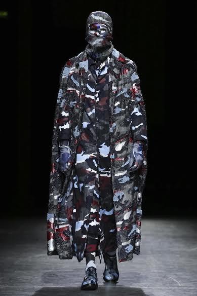 Moncler Gamme Bleu Fashion Show, Menswear Collection Fall Winter 2016 in Milan